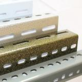 Metal Sheet Fabrication Hexagon Hole Punching with Galvanized Surface